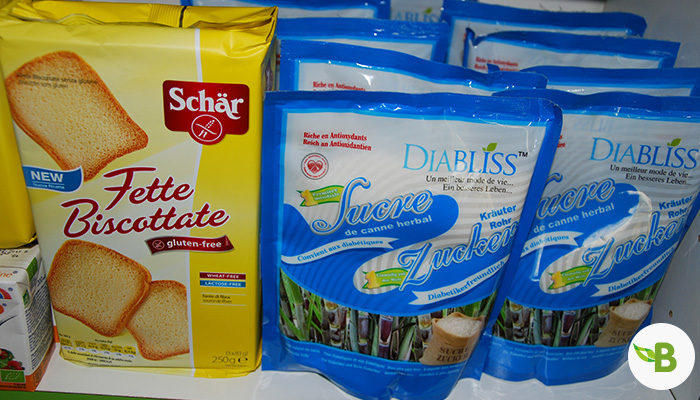 Produits bio et diététiques