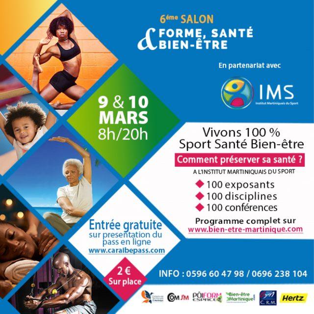 6ème édition Salon Vivons 100% Sport Santé Bien-être