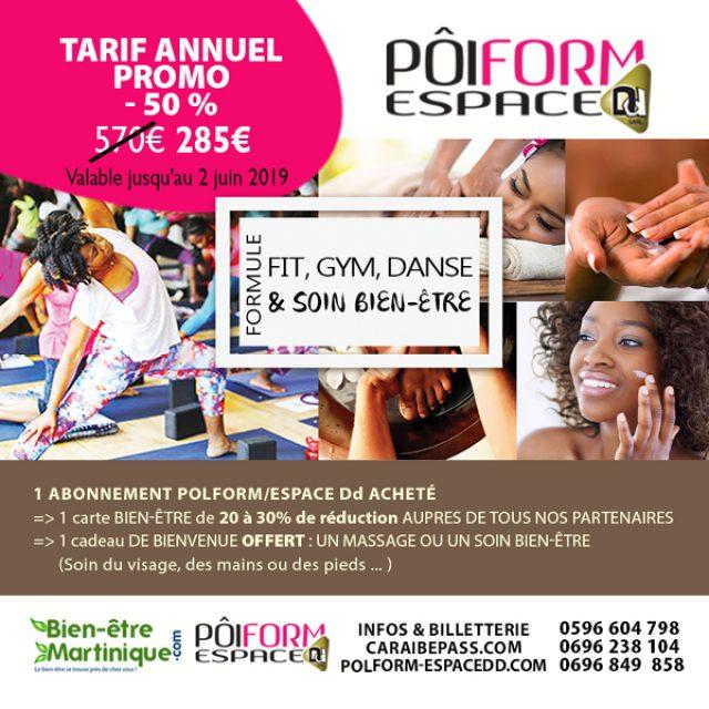 Formule Fit, gym, danse et soins bien-être