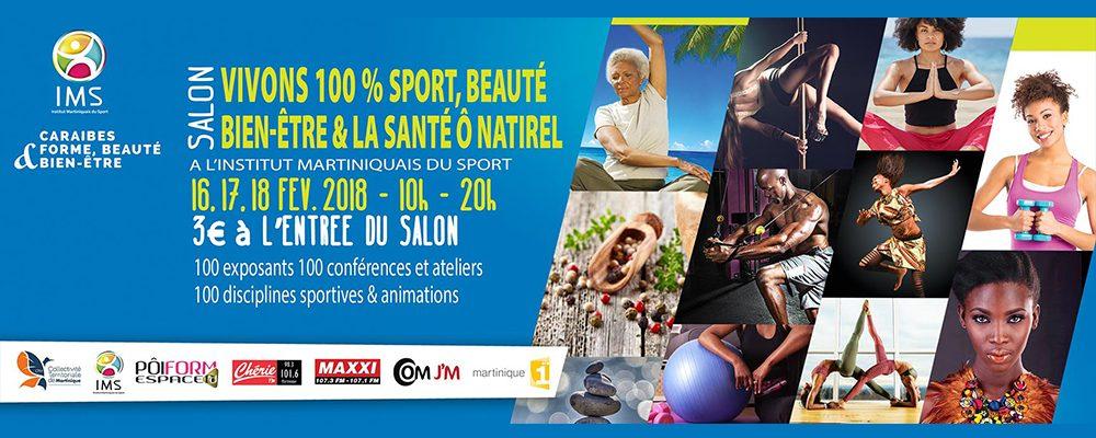 Salon 100% Sport, Santé, Beauté, Bien-être 2018