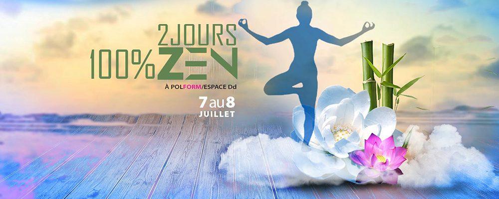 2 jours 100% Zen